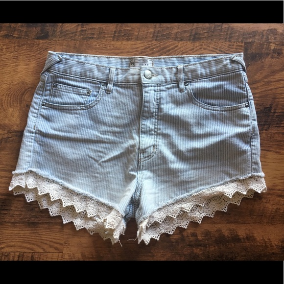Free People Pants - Free people high waist shorts sz 30 EUC